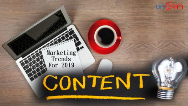 content marketing trends 2019 unidrim
